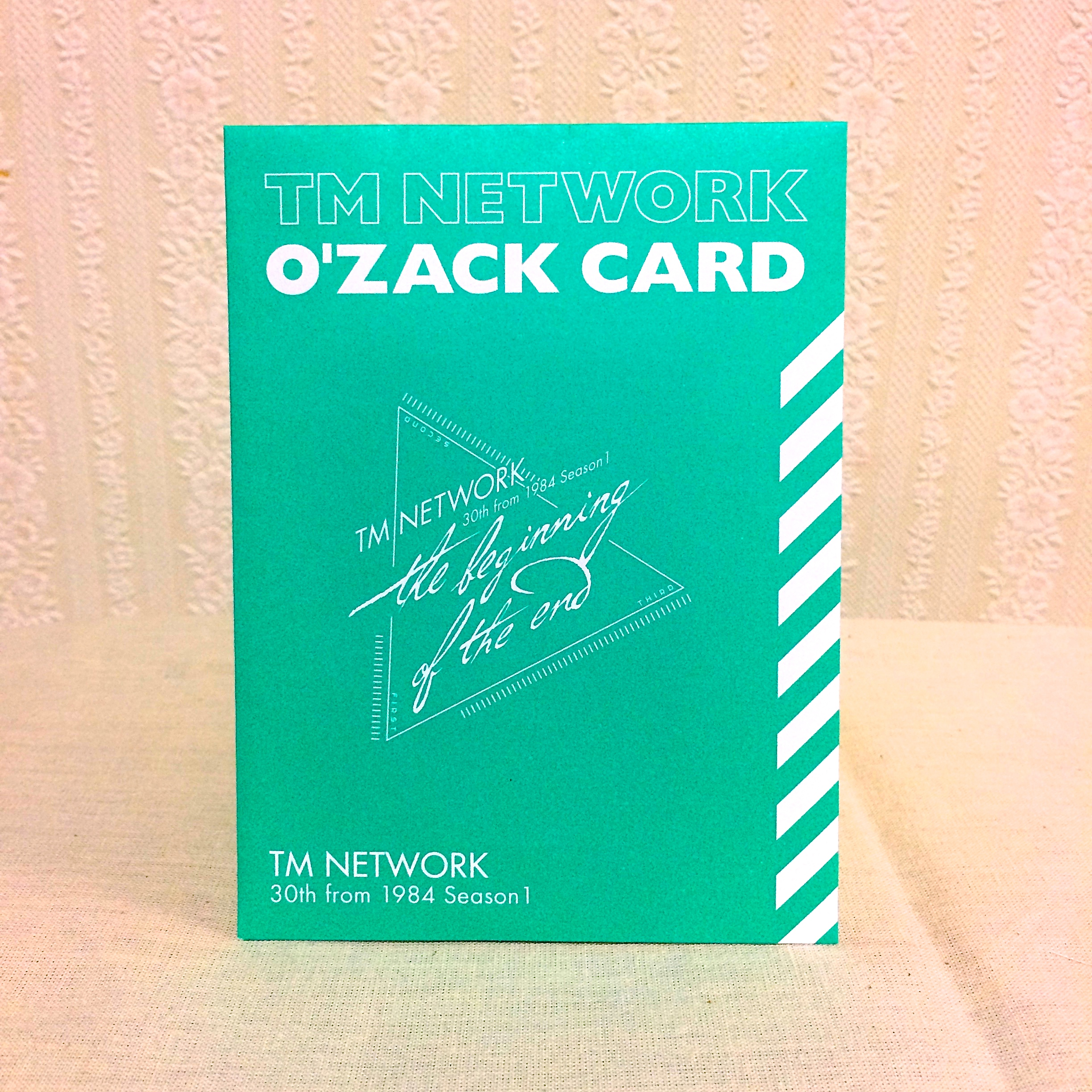TM NETWORK O'zack Card