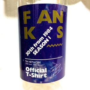 FANKS Tシャツ ボトルラベル(表)
