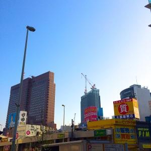 2014年4月10日 早朝の新宿