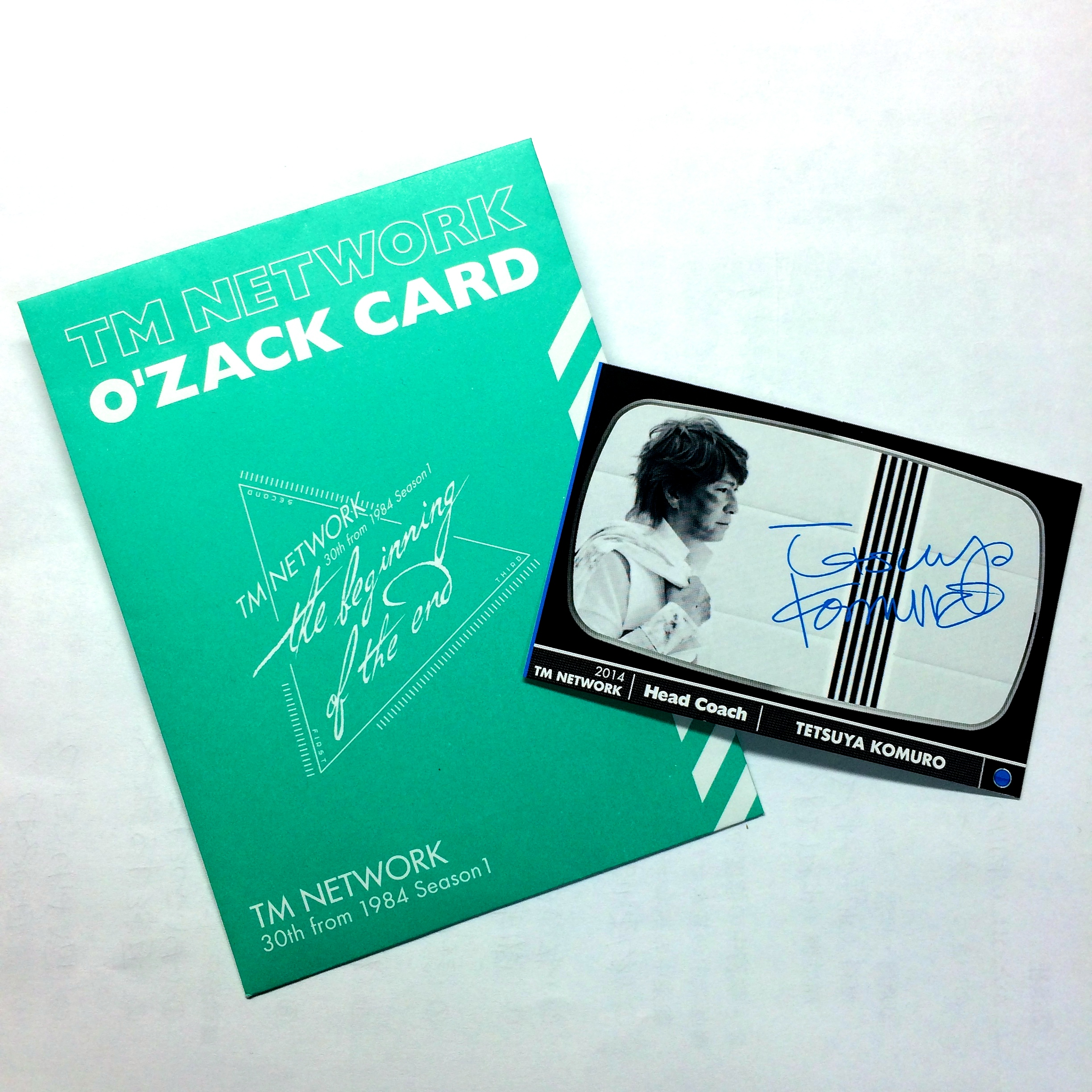 TM NETWORK O'zack Card TK ver.