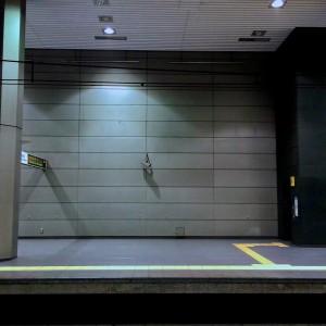 みなとみらい線 新高島駅(元町・中華街方面ホーム1)