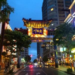 横浜中華街 朝陽門