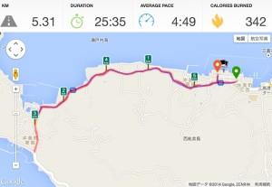 江田島かきカキマラソンルート
