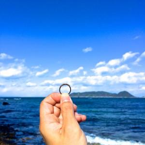 空、海、指輪