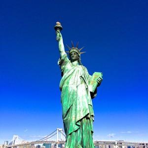 自由の女神像@お台場海浜公園